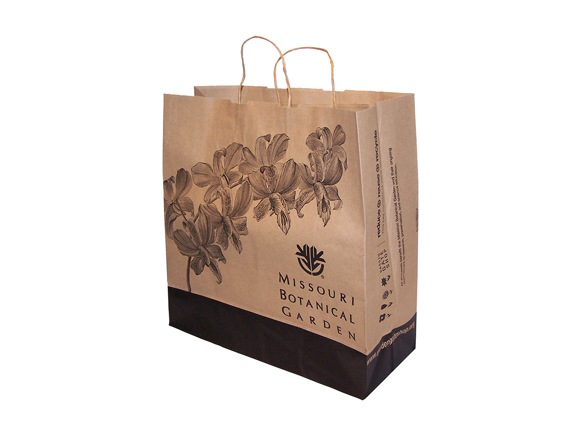 The Garden Gate Shop - Craft Paper Bags (MOBOT)